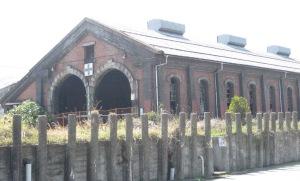 レンガ造り機関庫